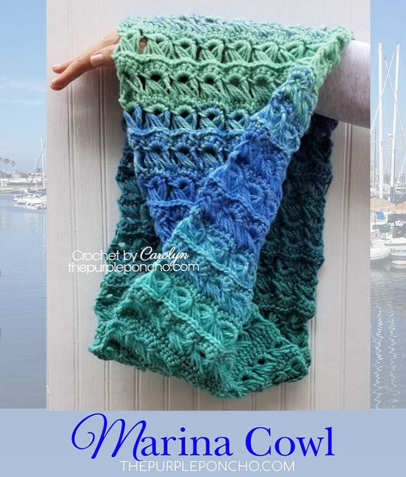 Marina Cowl Free Crochet Pattern