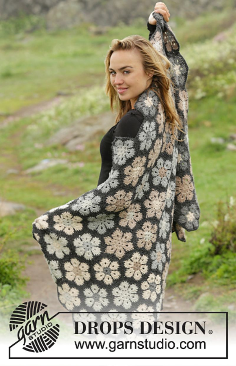 Midnight Flurries Free Crochet Pattern