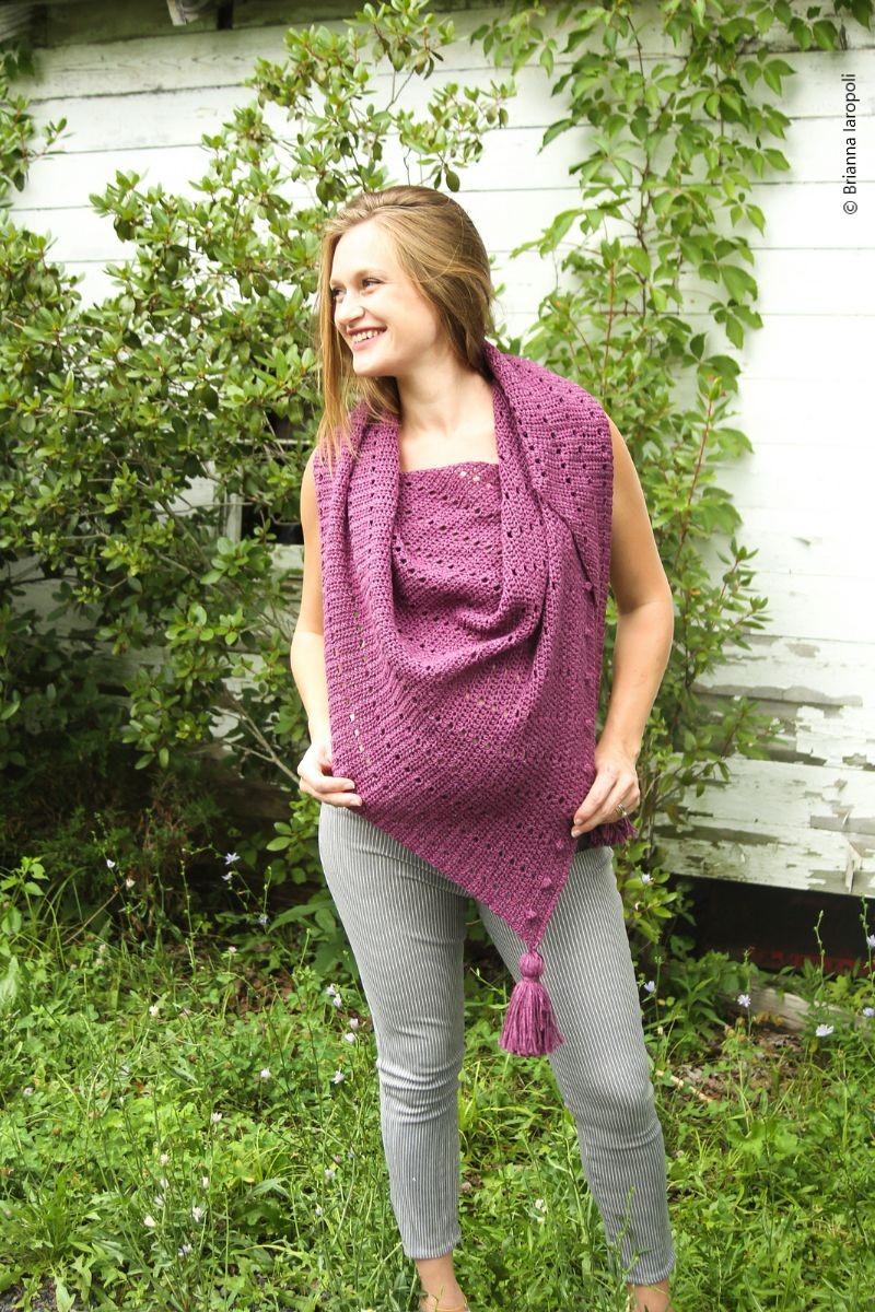Mila Scarf Free Crochet Pattern