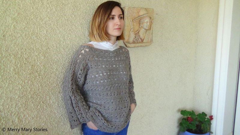 Mocha Lacy Sweater