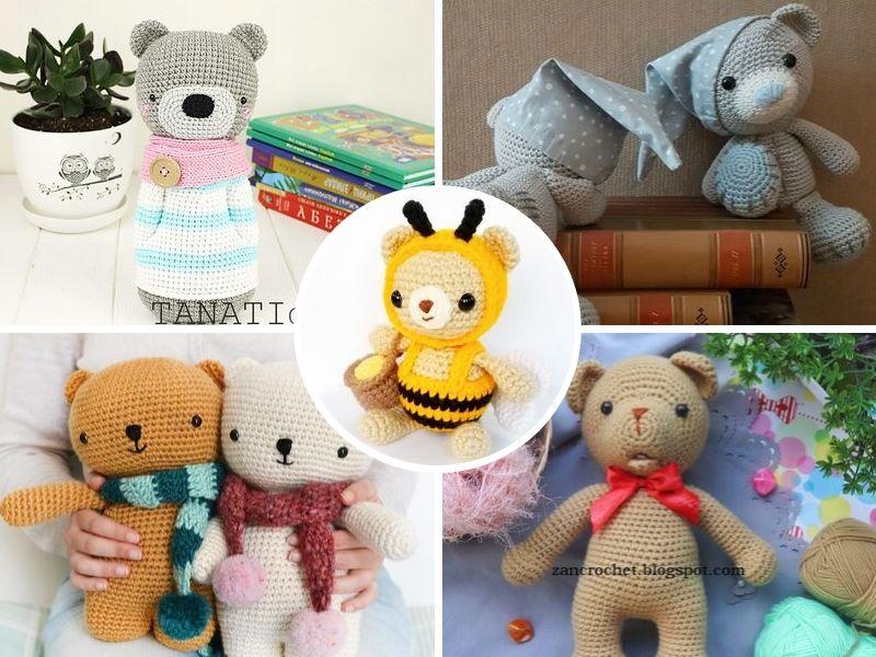 Precious Crochet Teddy Bears