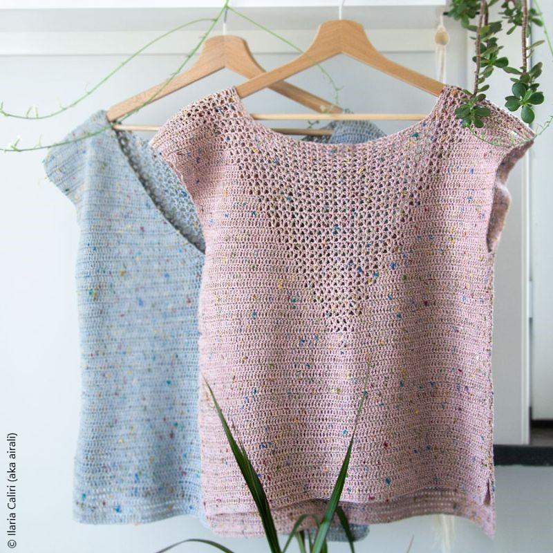 Beautiful Top Satureja Crochet Pattern