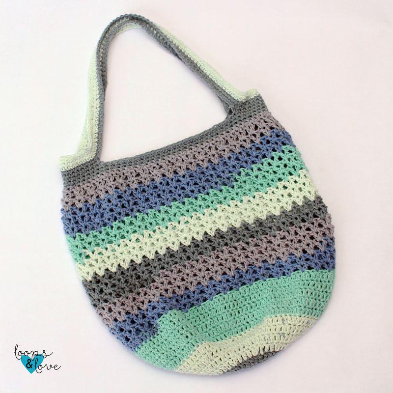 V-Stitch Market Bag