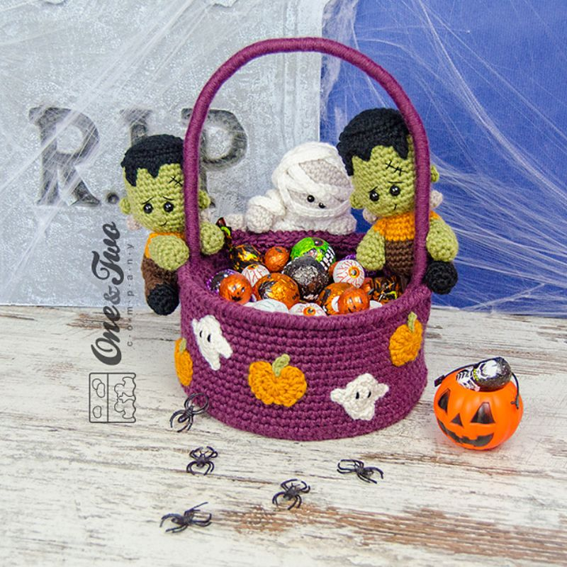 Spooky Halloween Basket