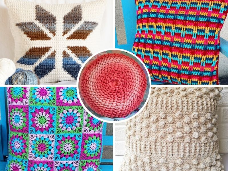 Stylish Crochet Cushions
