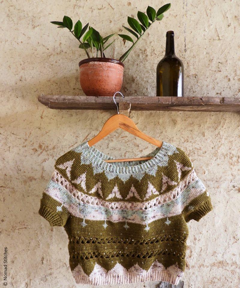 Taroko Sweater Crochet Pattern