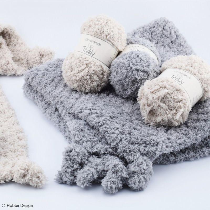 Teddy Blankie Free Crochet Pattern