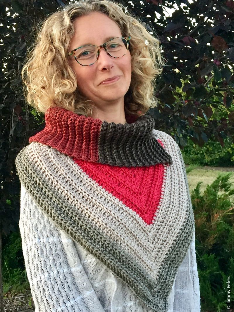 The Crystal Bandana Cowl Crochet Pattern