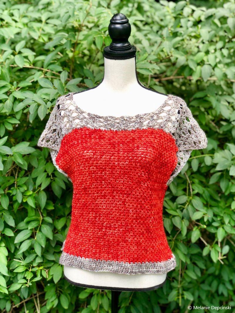 The Melanie Tee Free Crochet Pattern