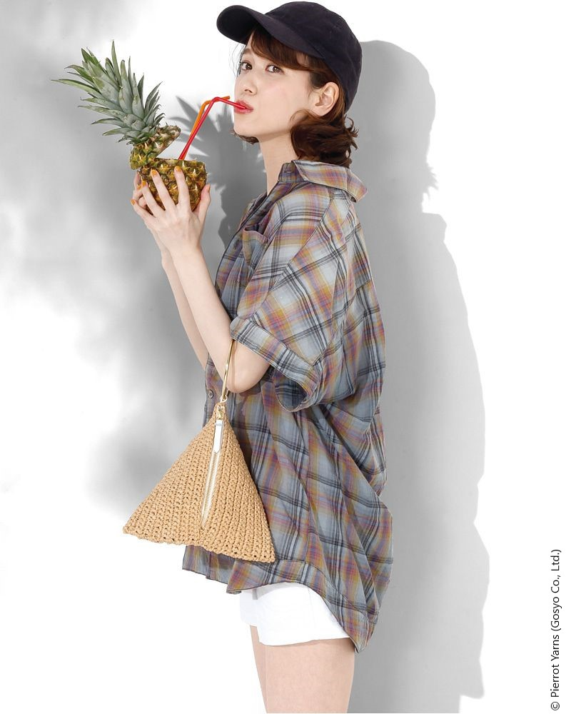 Triangle Clutch Free Crochet Pattern