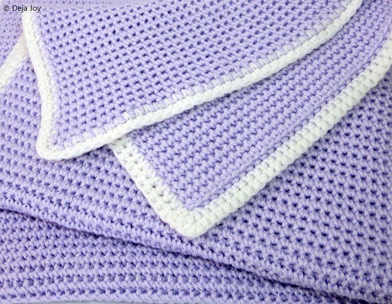 Weave Stitch Baby Blanket