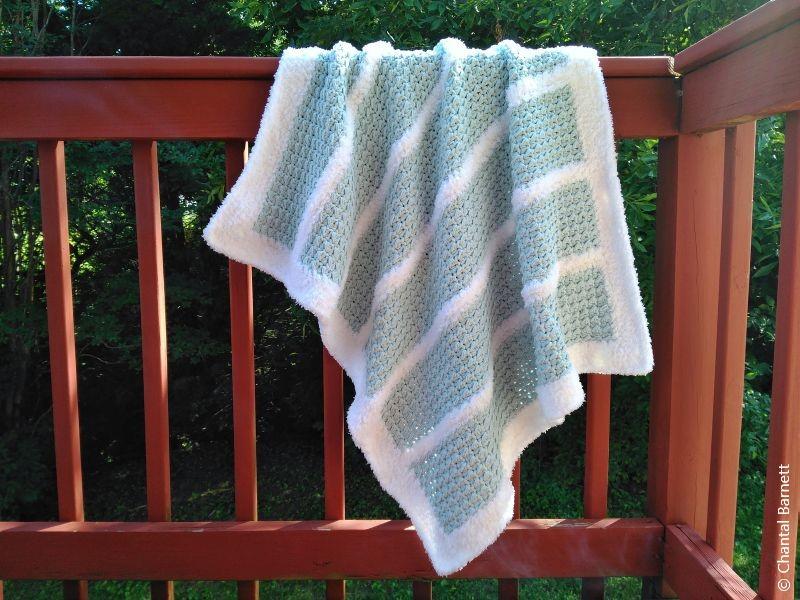 Winter Dreams Baby Blanket Free Crochet Pattern