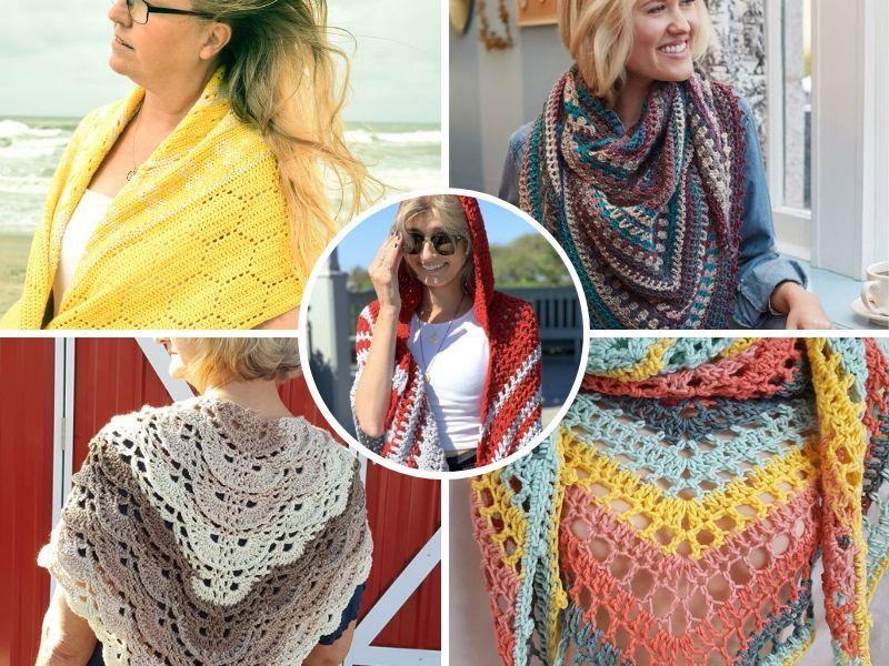 Wonderful Crochet Shawls