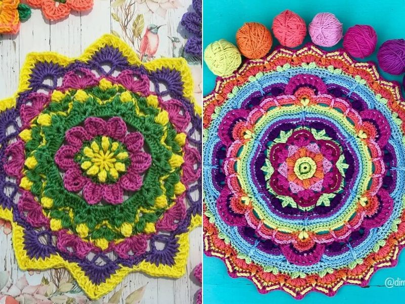 Wonderful Mandalas Free Crochet Patterns