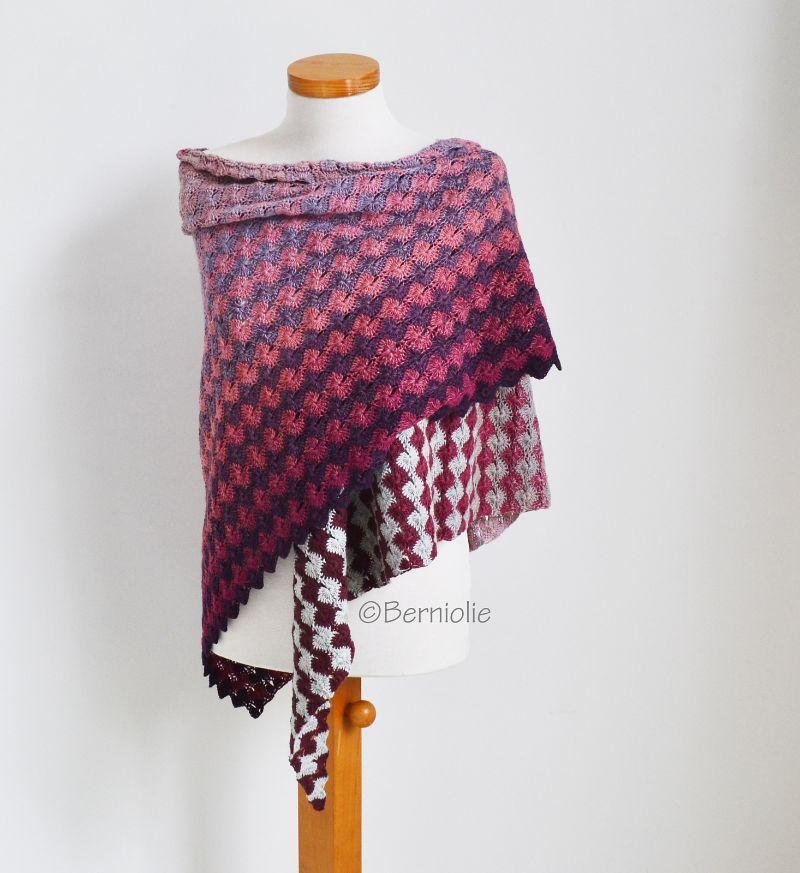 Beautiful Shawl Yinny Crochet Pattern