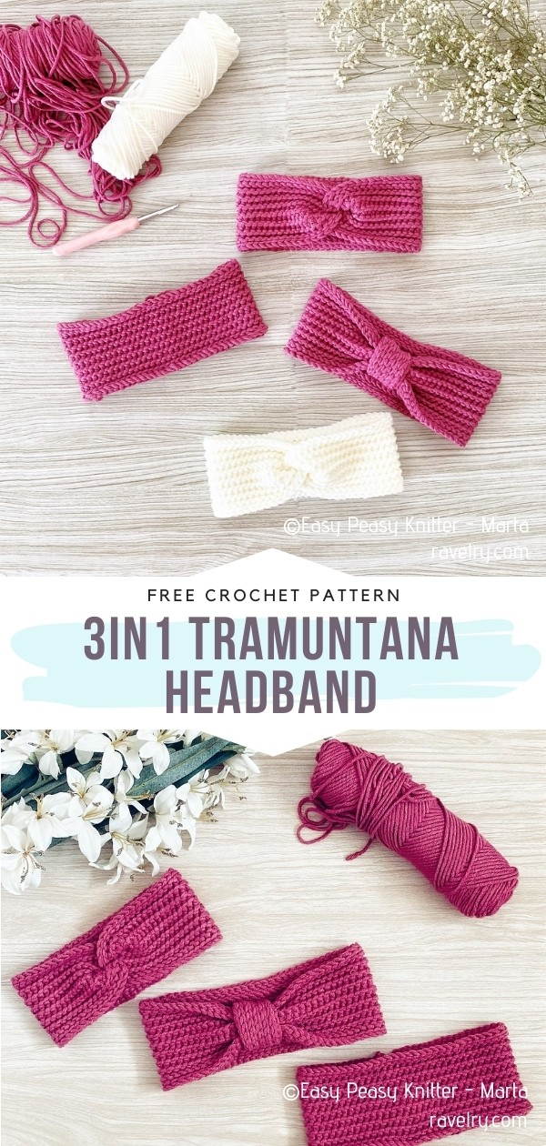 Pink Headbands