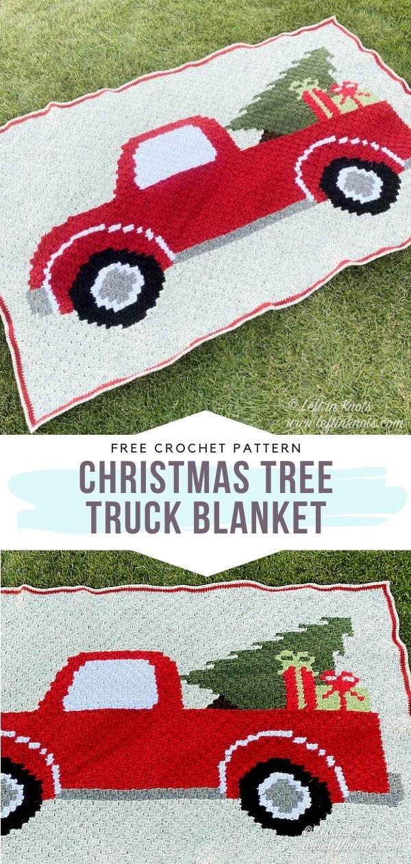 Crochet Truck Blanket