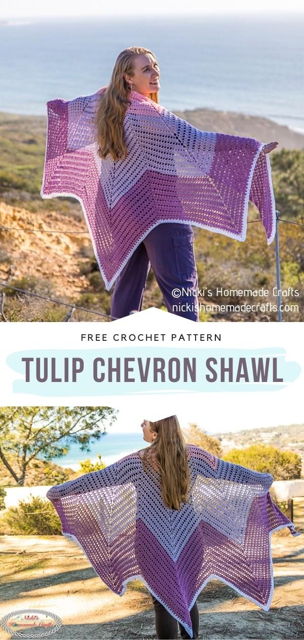 Chevron Shawl