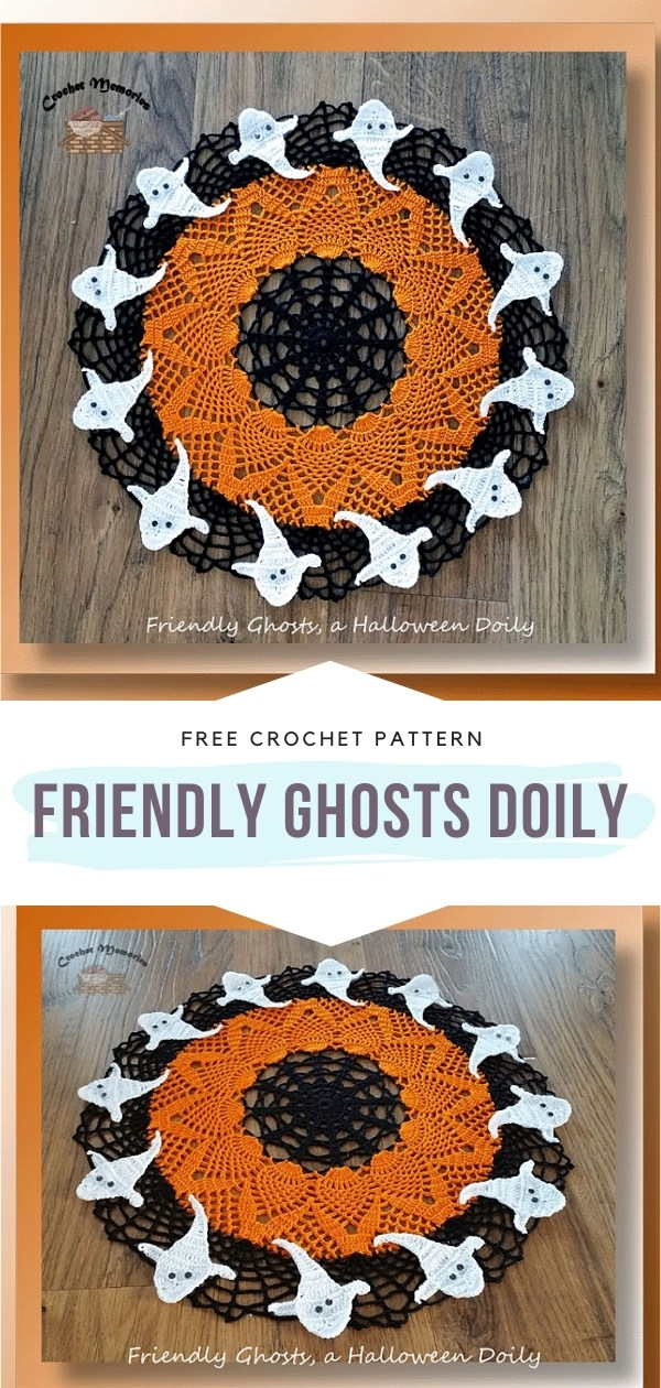 Halloween Crochet Doily