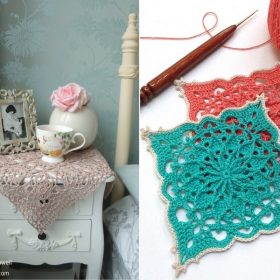 Exquisite Crochet Squares - Ideas and Free Patterns
