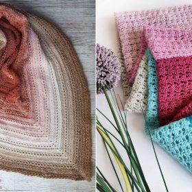 Effortless Crochet Shawls - Ideas and Free Patterns
