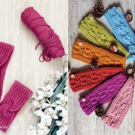Lovely Crochet Ear Warmers with Free Patterns