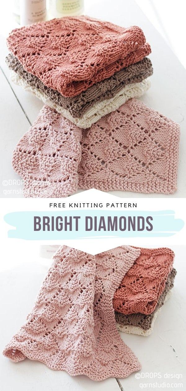 Neutral Knit Dishcloths