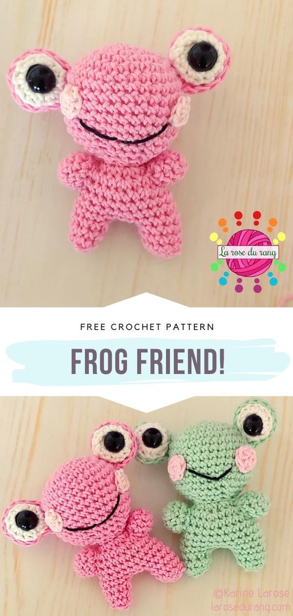 Frog friend! Amigurumi