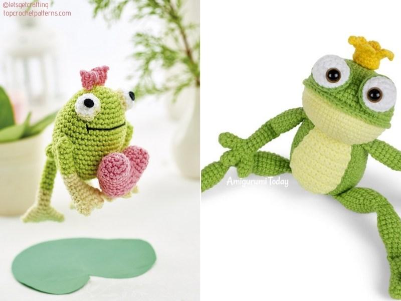 Sweetheart Frog Amigurumi