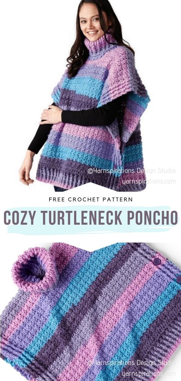 Turtleneck Poncho