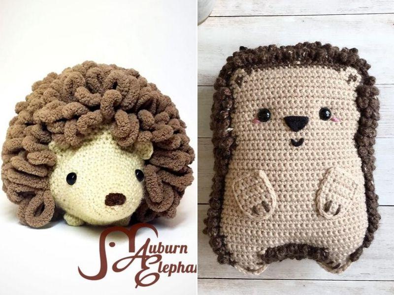 Adorable Hedgehog Amigurumi Free Crochet Patterns