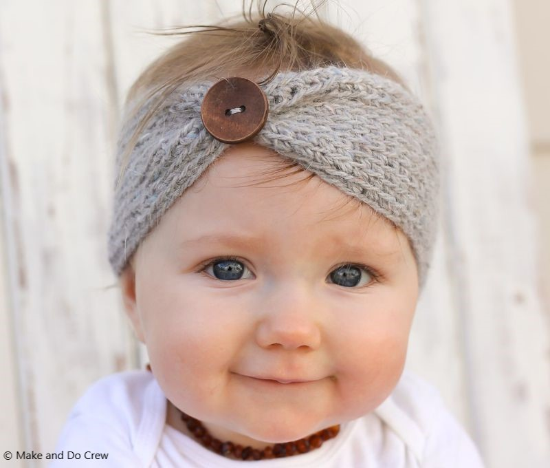 "Free Crochet Pattern ""Aspen Socialite"" Headband"
