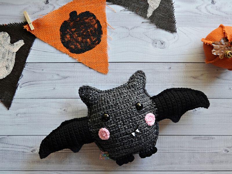 Free Crochet Patterns Bat Amigurumi