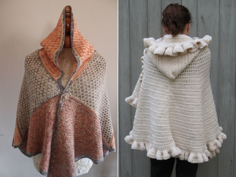 Free Patterns Beautiful Crochet Capes