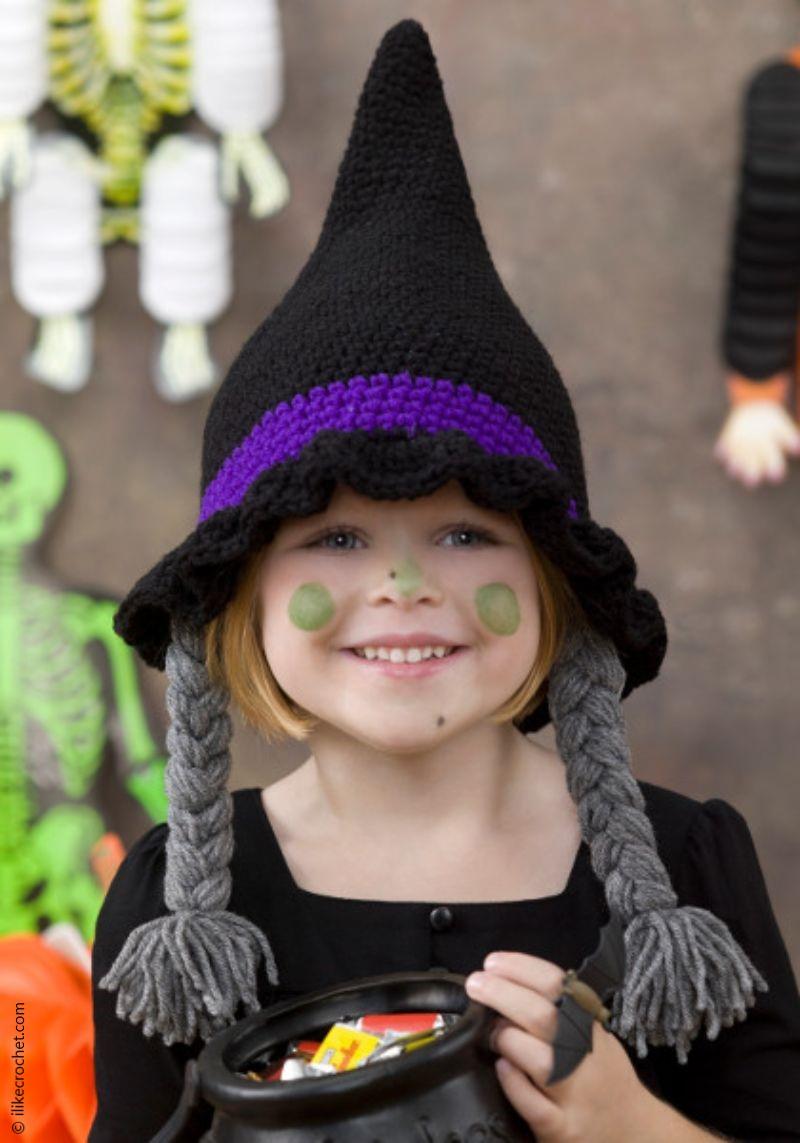 Crochet Witch Hat