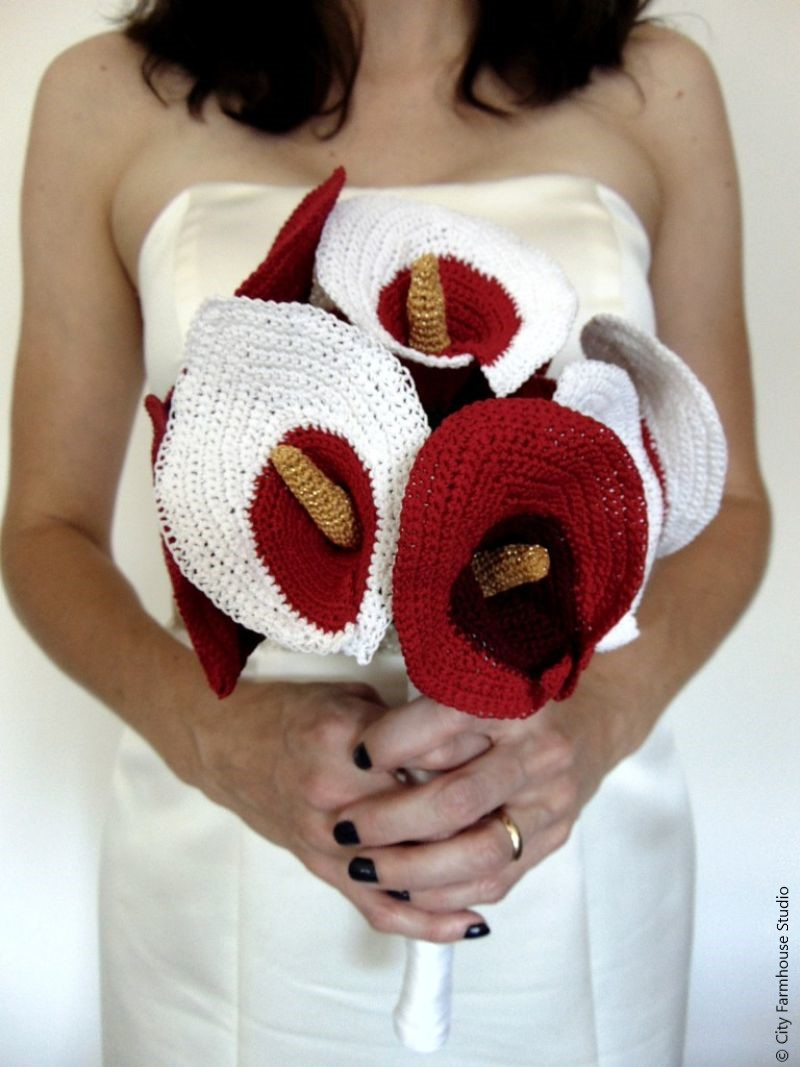 Crochet Lily Bouquet