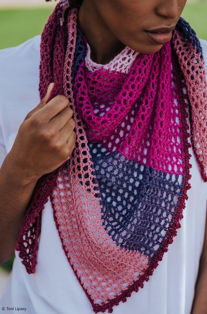Free Crochet Pattern Carillon Shawl