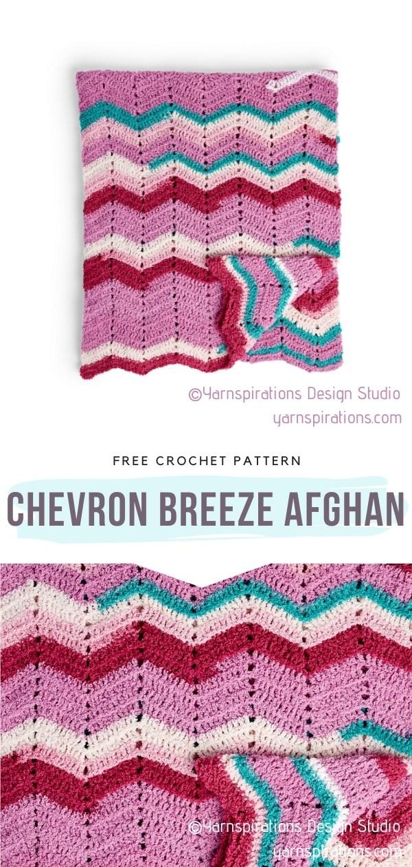 Chevron Afghan