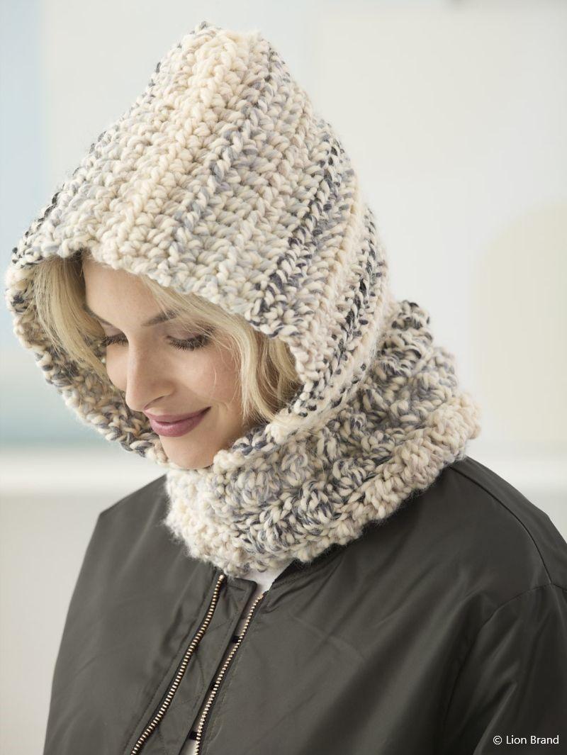 Cozy Bobble Hood Free Crochet Pattern
