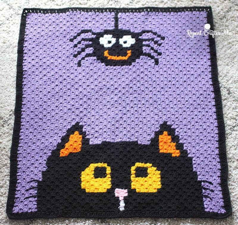 Halloween C2C Blanket