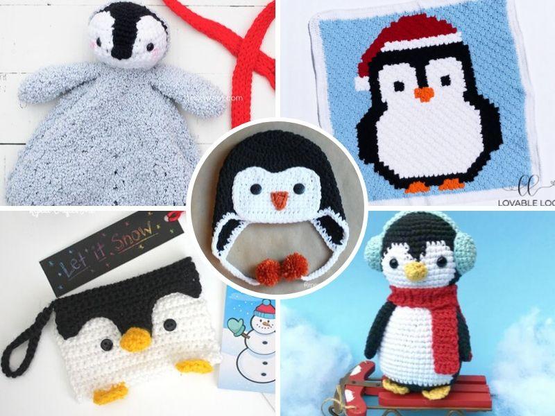 Cute Crochet Penguin Ideas