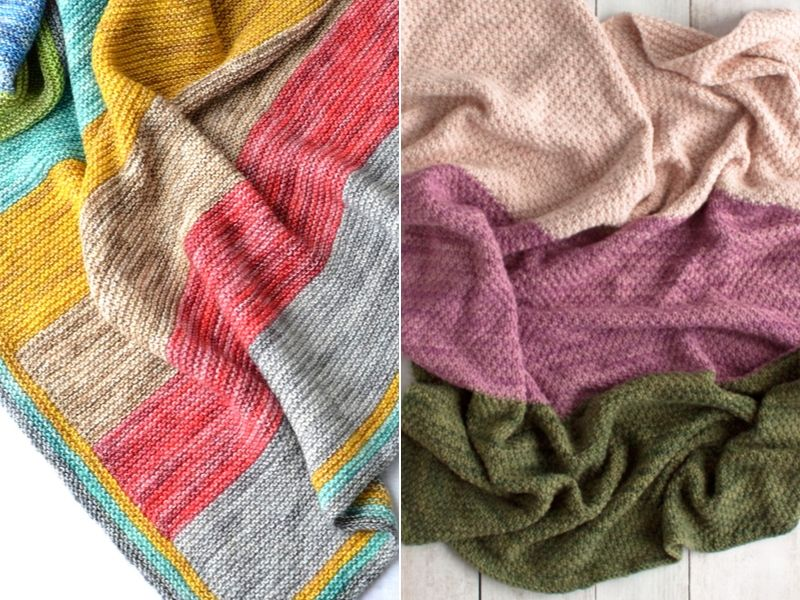 Free Patterns Easy Knit Baby Blankets