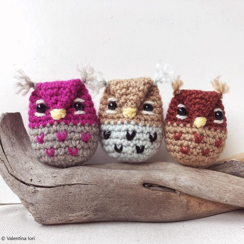 Crochet Animals Patterns - Owls