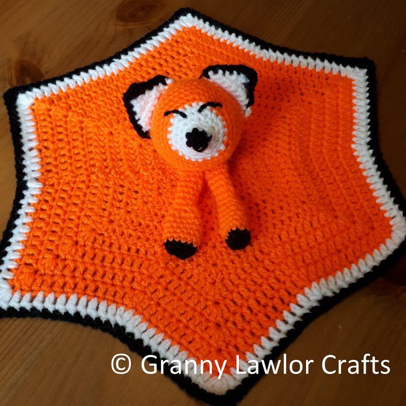 Crochet Fox Lovey