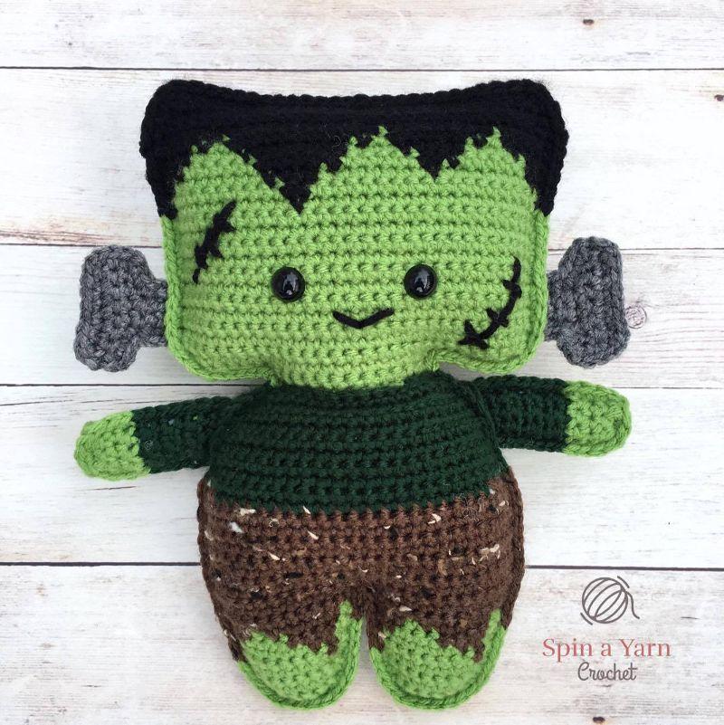 Crochet Frankenstein's Monster