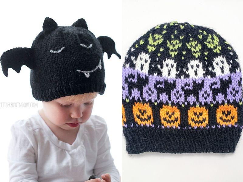 Free Patterns Fun Halloween Hats