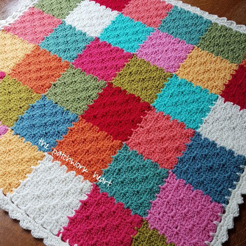 Gingham Blanket C2C