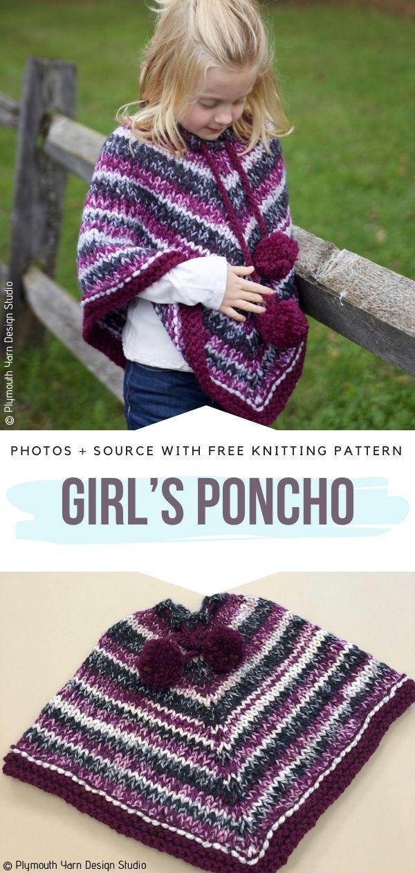 Girl's Poncho