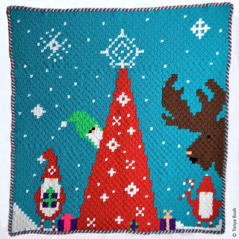 Gnome C2C Blanket