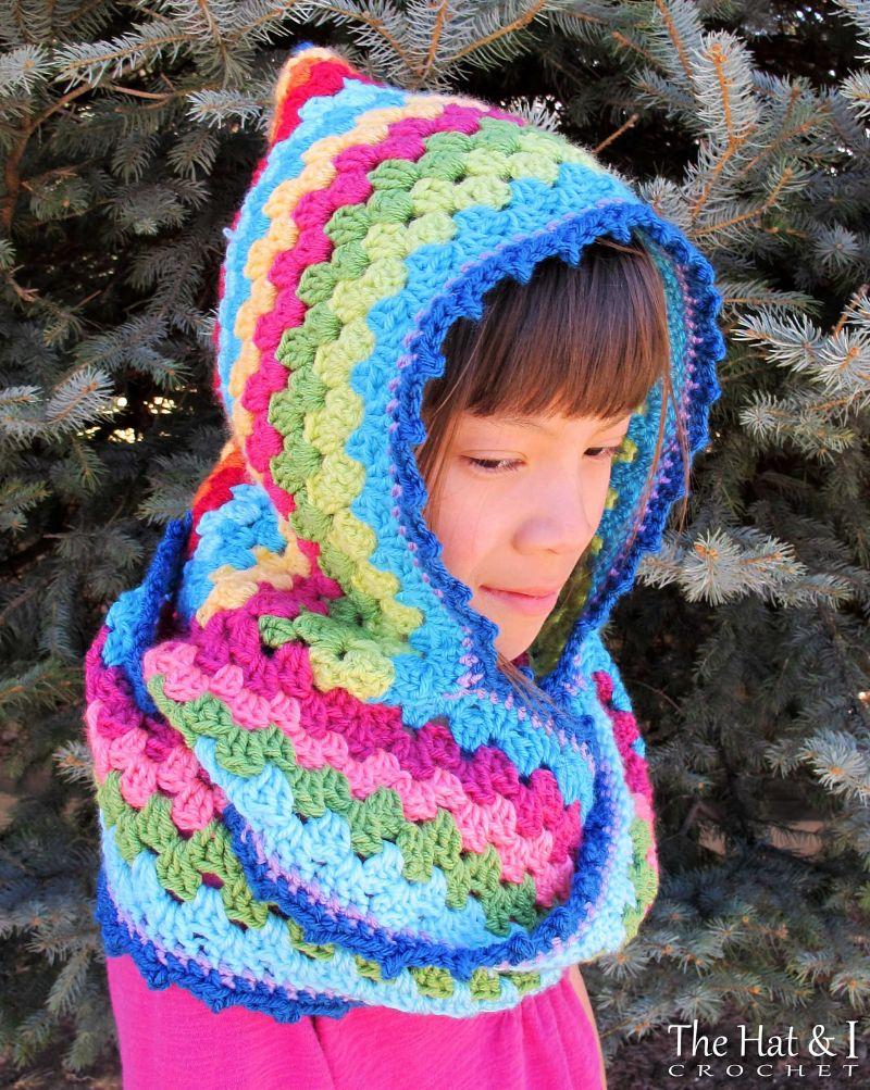 Free Crochet Pattern: Harlequin Hoodie